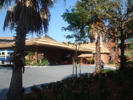 Disney's Animal Kingdom Villas - Kidani Village: main entrance
