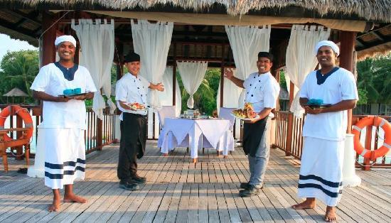 فابينفارو: Vabbinfaru Sanctuary Dining