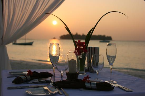 Vabbinfaru: Private Dinner: Beach Dinner