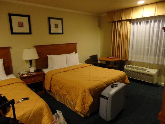 Comfort Inn Monterey by the Sea: lit doubles