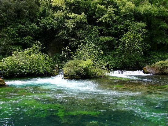 Prowansja, Francja: Fontaine de Vaucluse 4