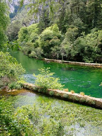 Provence, Frankrike: Fontaine de Vaucluse 2