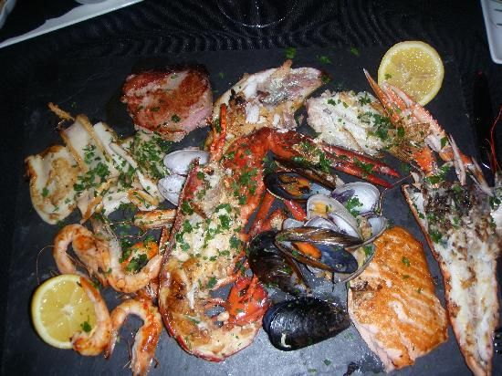 Rosso Sul Mare Restaurant & Wine Bar: Mixed Grill