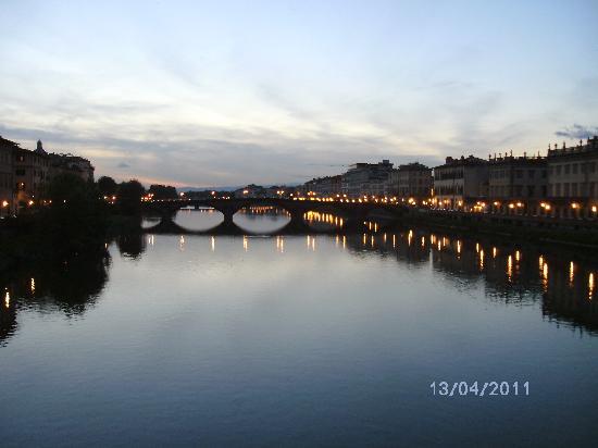 Villa Belvedere - Florence: Flußpanorama