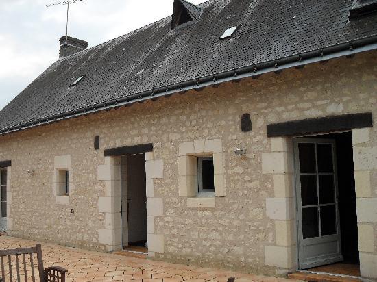 Auberge de Crissay : L'entrée des différentes chambres ou suite