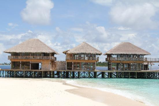 Six Senses Laamu: The main building