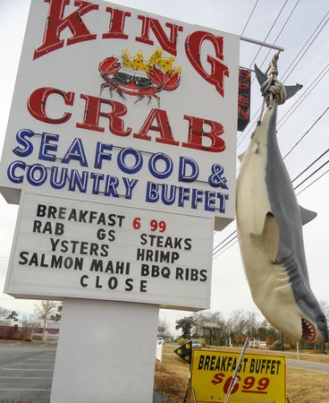 King Crab Seafood & Country Buffet