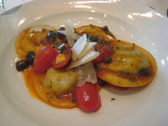 Portofino: Tortello with spinach and ricotta ~MOP140