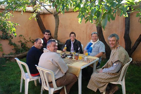 Marrakech, Morocco: Petit déjeuner à Toulkine