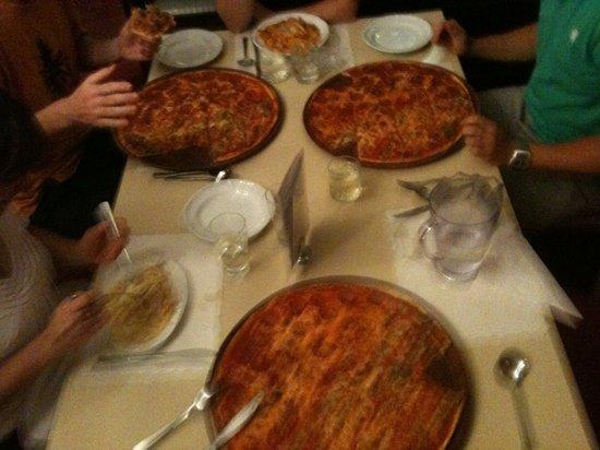 La Casalinga: fantastic pizza