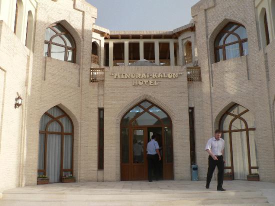 Usbekistan, Buchara, Hotel Minorai-Kalon, Hoteleingang
