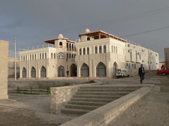 Usbekistan, Buchara, Hotel Minorai-Kalon