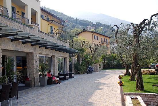 Wellness Hotel Casa Barca: vor dem Hoteleingang
