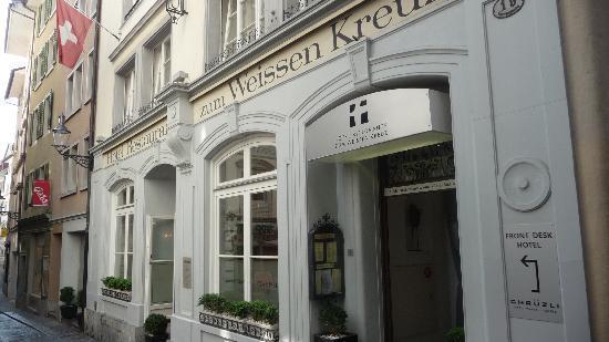 Boutique Hotel weisses Kreuz: Fachada