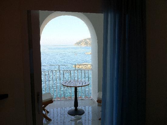 Hotel Marina Riviera: Il balcone della camera