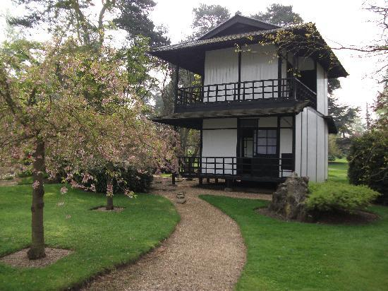 Japanese House In Gardens Picture Of Fanhams Hall Hotel