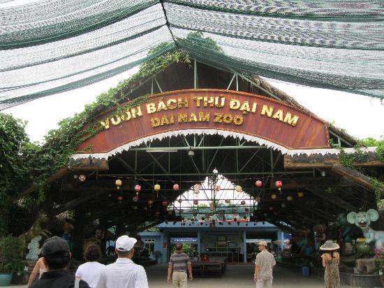 Dai Nam Zoo : Entrance