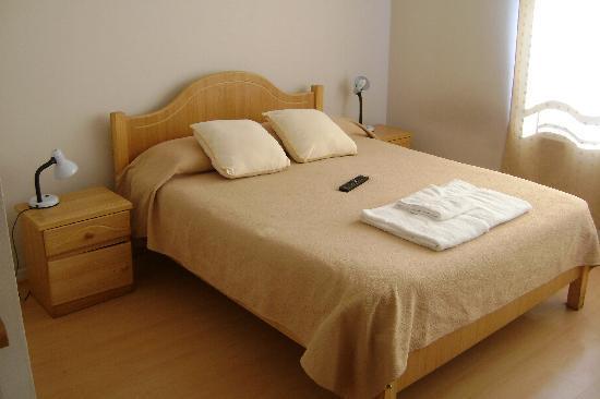 Apart Center Temporary Rent: Le lit
