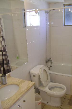 Apart Center Temporary Rent: La salle de bains
