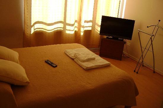 Apart Center Temporary Rent: La chambre