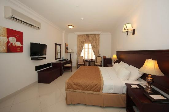 Al Maha International Hotel: Our room was spacious and clean.