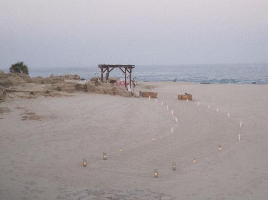 Las Ventanas al Paraiso, A Rosewood Resort : Dinner on the Beach