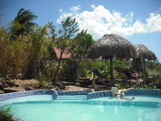 Totoco Eco-Lodge: Lazing by the pool at Totoco