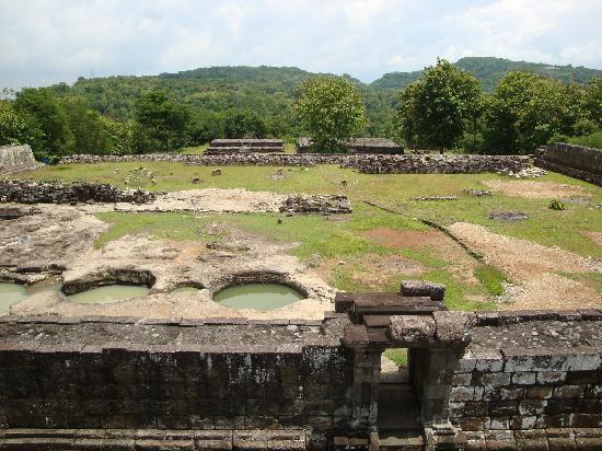Ratu Boko Temple : 遺跡
