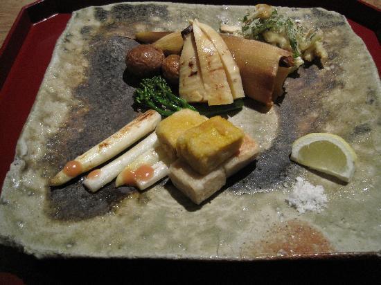 Kajitsu : More lovely vegetarian cuisine...