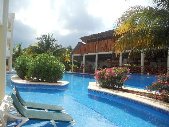 Resort From The Nice Part Of The Beach Picture Of El Dorado Sensimar Riviera Maya Puerto