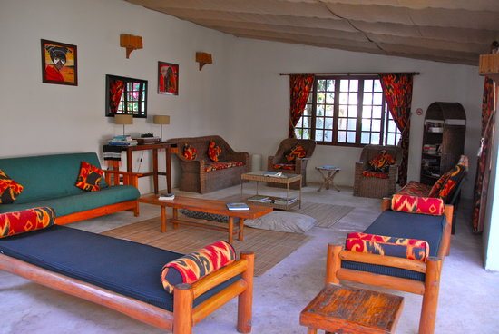 Ponta do Ouro, Mozambique: Living room