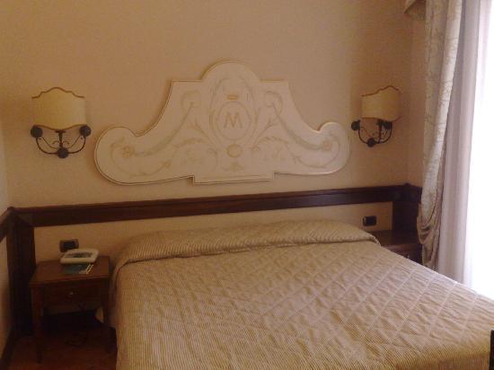 Michelangelo Hotel: singleroom