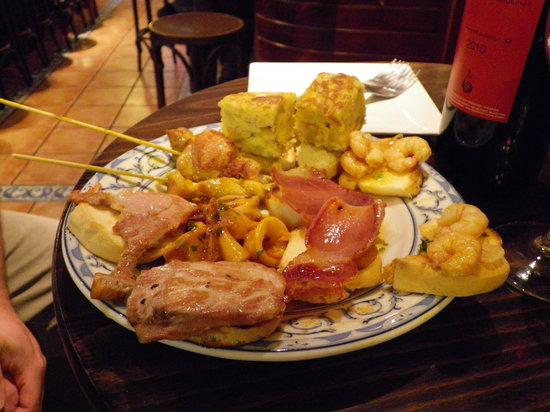 Restaurante Meson La Vina: Lecker!