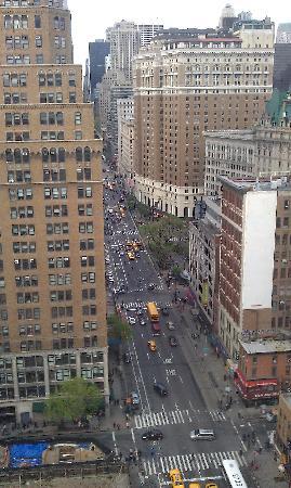 Kimpton Hotel Eventi: View from 20th floor room. 6th avenue.