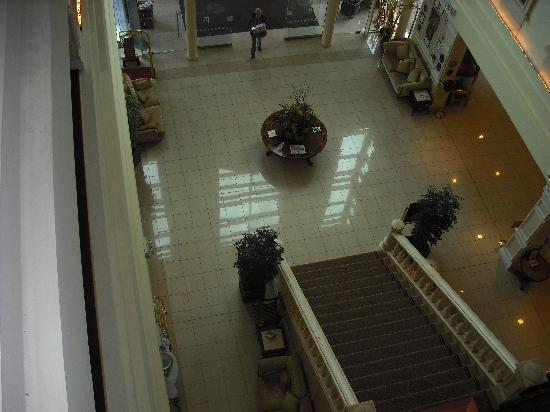 The Heritage Killenard : aerial view of the lobby area!!