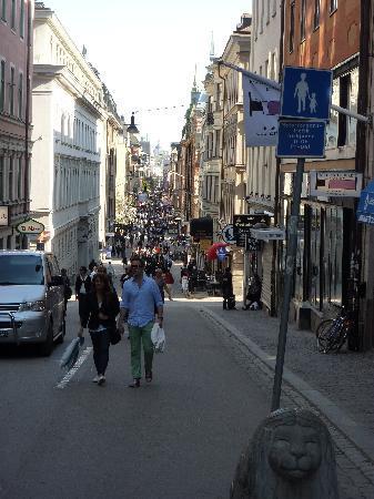 Best Western Hotel Bentleys : The street the hotel is on...