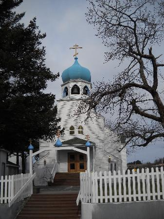 Best Western Kodiak Inn And Convention Center: Russian Orthodox Church Exterior