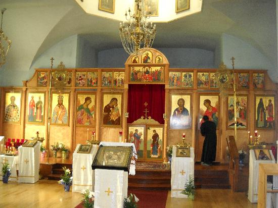 Best Western Kodiak Inn And Convention Center: Russian Orthodox Church Interior