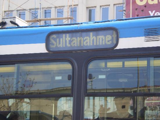 Hotel Inter Istanbul: The tram - stop is located very close to hotel