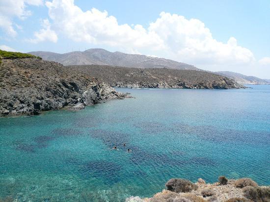 Hotel Alkyon Siros: Gramata aventure, pique-nique et baignade <3