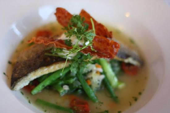 Gurnard, UK: Seabass Supper Special