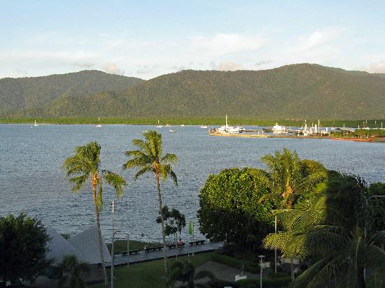 DoubleTree by Hilton Hotel Cairns: View to the right (straight ahead  was water only)