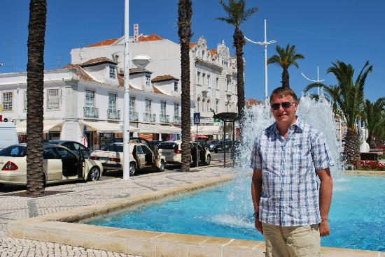 Falesia Hotel: Me at villa Real /monte gordo