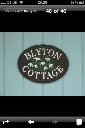 Ellwood Cottages : Our cottage