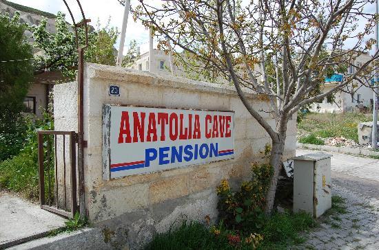 Anatolia Cave Pension: Bra läge och rent och snyggt
