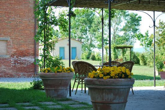 Cortona Resort - Le Terre dei Cavalieri: View of terrasse