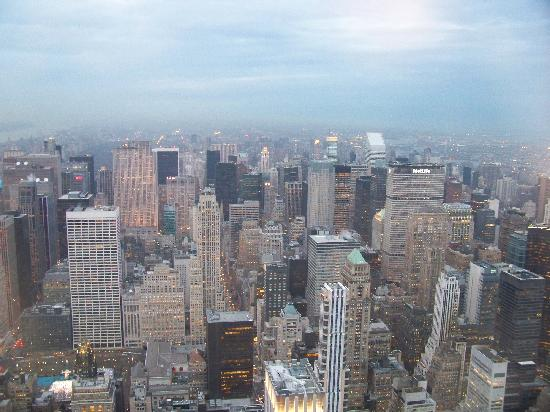 New York, État de New York : View From The Empire State Building