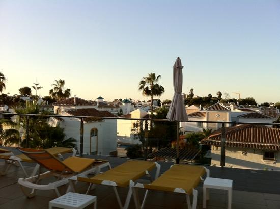 Nerja Club: view from pool area
