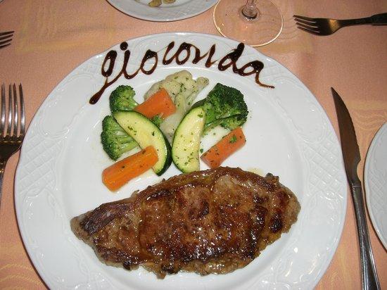 La Gioconda : My lovely dinner!