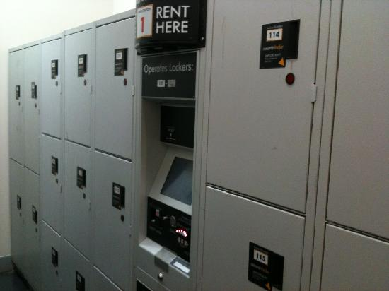 Wake Up! Sydney: Secure but expensive lockers